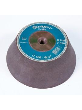 Rebolo Copo Cônico REI 4 X 2 X M-14polegadas