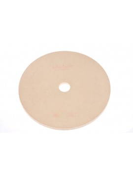Roda de feltro para polimento amarela 7