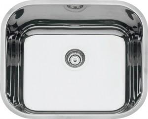 Cubas para Cozinha Retangular 40 BL Cod.94020/207 Dimensões Produto (Compr. X Larg. X Alt.): 400x340x170 mm.