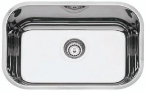 Cuba para Cozinha em aço Inox AISI 304 Retangular 47 BL Prime COD:94022/202 Dimensões Produto (Compr. X Larg. X Alt.): 470x305x170 mm