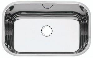 Cuba para Cozinha em aço Inox AISI 304 Retangular 47 BL Prime COD:94022/206 Dimensões Produto (Compr. X Larg. X Alt.): 470x305x170 mm.