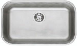 Cuba para Cozinha Retangular 56 BL Cod.94024/102 Dimensões Produto (Compr. X Larg. X Alt.): 560x340x170 mm.