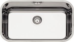 Cuba para Cozinha Retangular 56 BL Cod.94024/203 Dimensões Produto (Compr. X Larg. X Alt.): 560x340x170 mm.