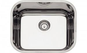 Cuba para Cozinha em aço Inox AISI 304 Retangular 40 BL COD:94050/407 Dimensões Produto (Compr. X Larg. X Alt.): 400x340x140 mm