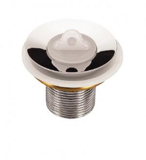 A válvula Tramontina é durável e de excelente apresentação.Possui tampa de vedação.Produto em latão cromado COD:94510/006 Dimensões Produto (Compr. X Larg. X Alt.): 50x50x50 mm